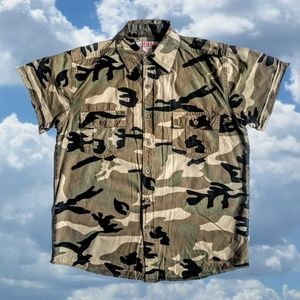 Vintage Camo Buttondown